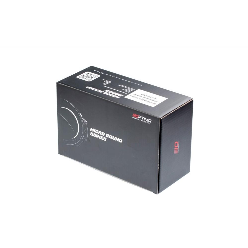 """Optima Premium Bi-LED LENS Micro Round 1.8"""""""