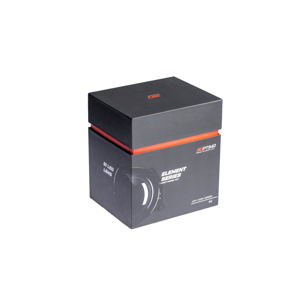 Optima Premium Bi-LED LENS Element Series Shift Model 12V