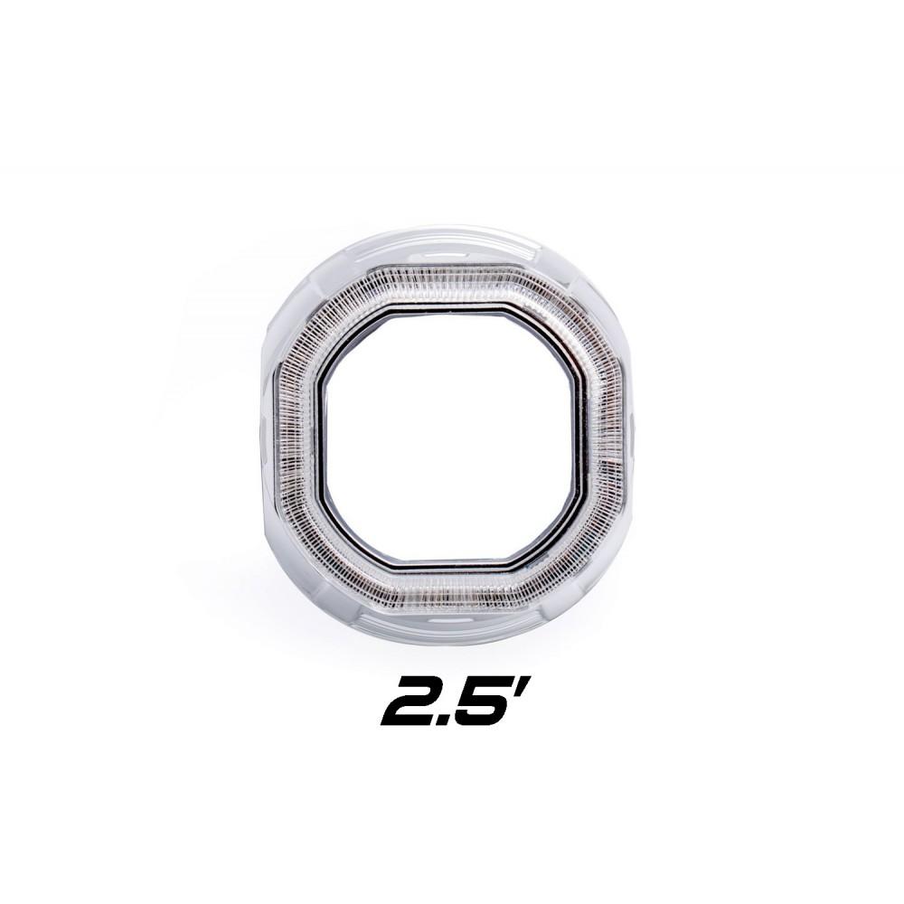"""Декоративная бленда Optima Z261S 2.5"""" для линзы 2.5 дюйма квадратная под Ангельские глазки"""