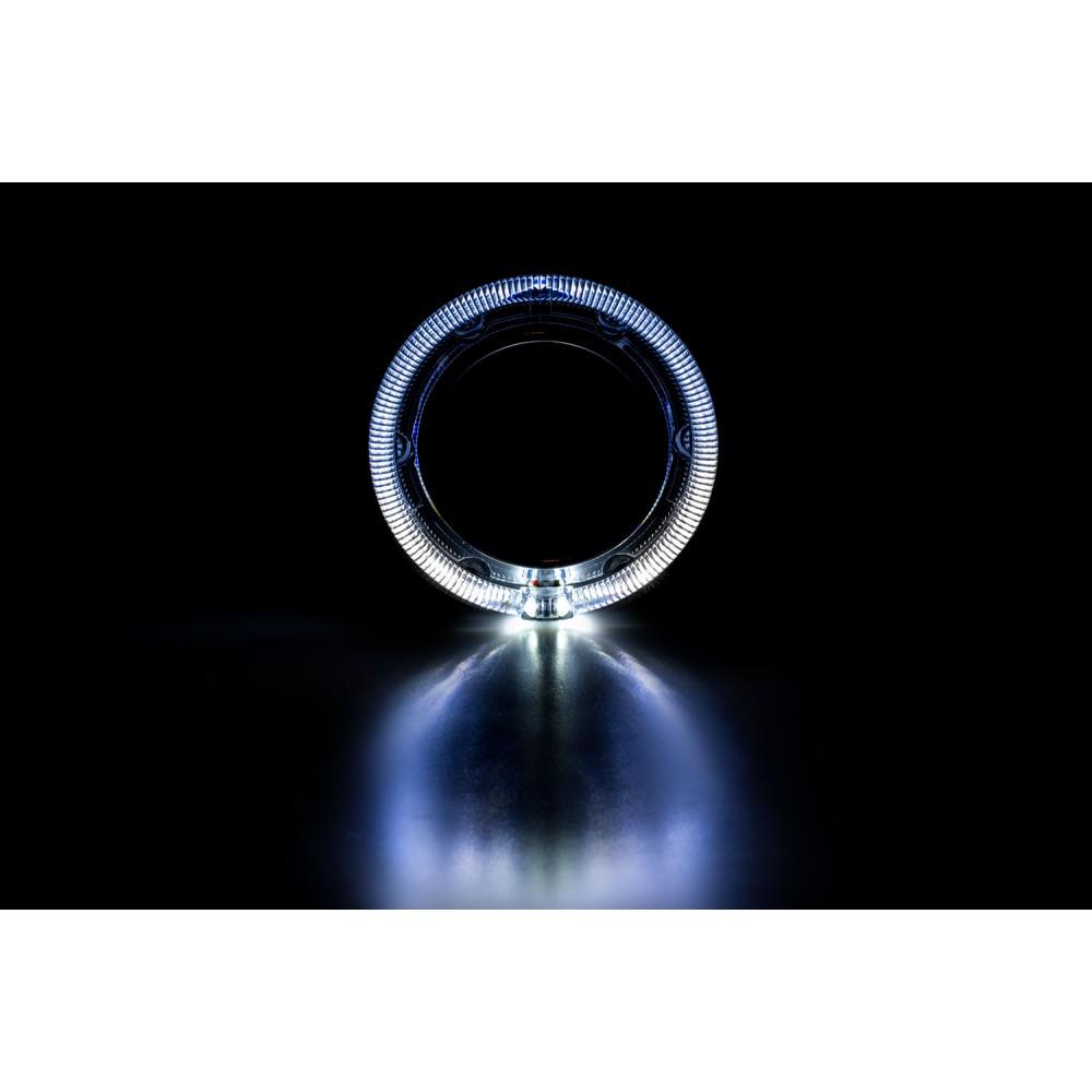 """Декоративная бленда Optima GD104 3.0"""" круглая со сверхъяркими ангельскими глазками CREE + режим притухания"""