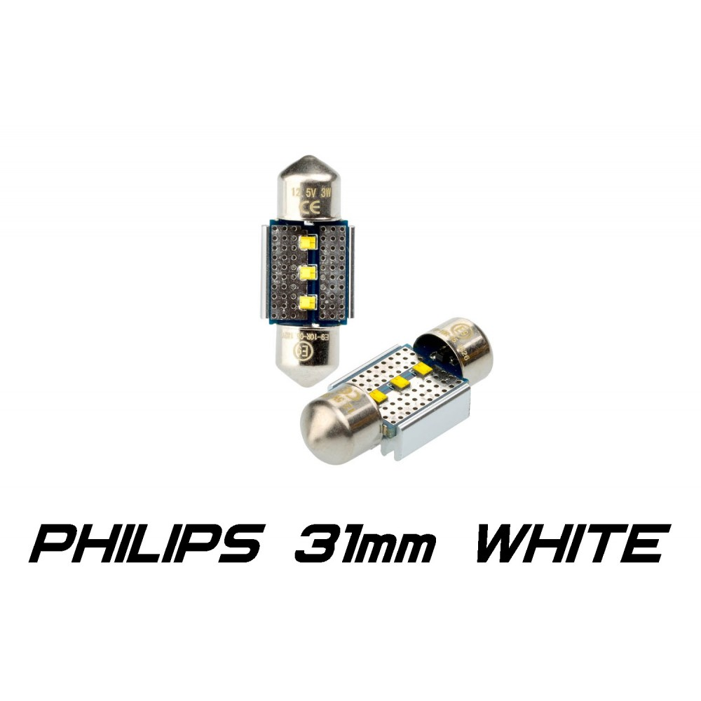 Optima Premium PHILIPS CAN Festoon 31 mm белая с обманкой