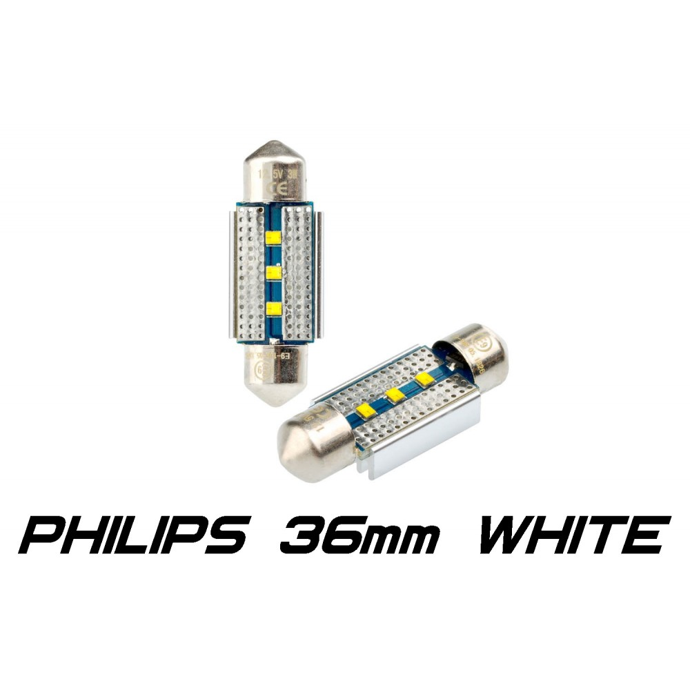 Optima Premium PHILIPS CAN Festoon 36 mm белая с обманкой