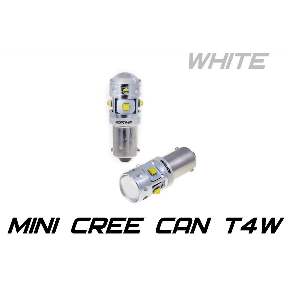 Optima Premium T4W (Ba9S) MINI 30W 5100K с обманкой