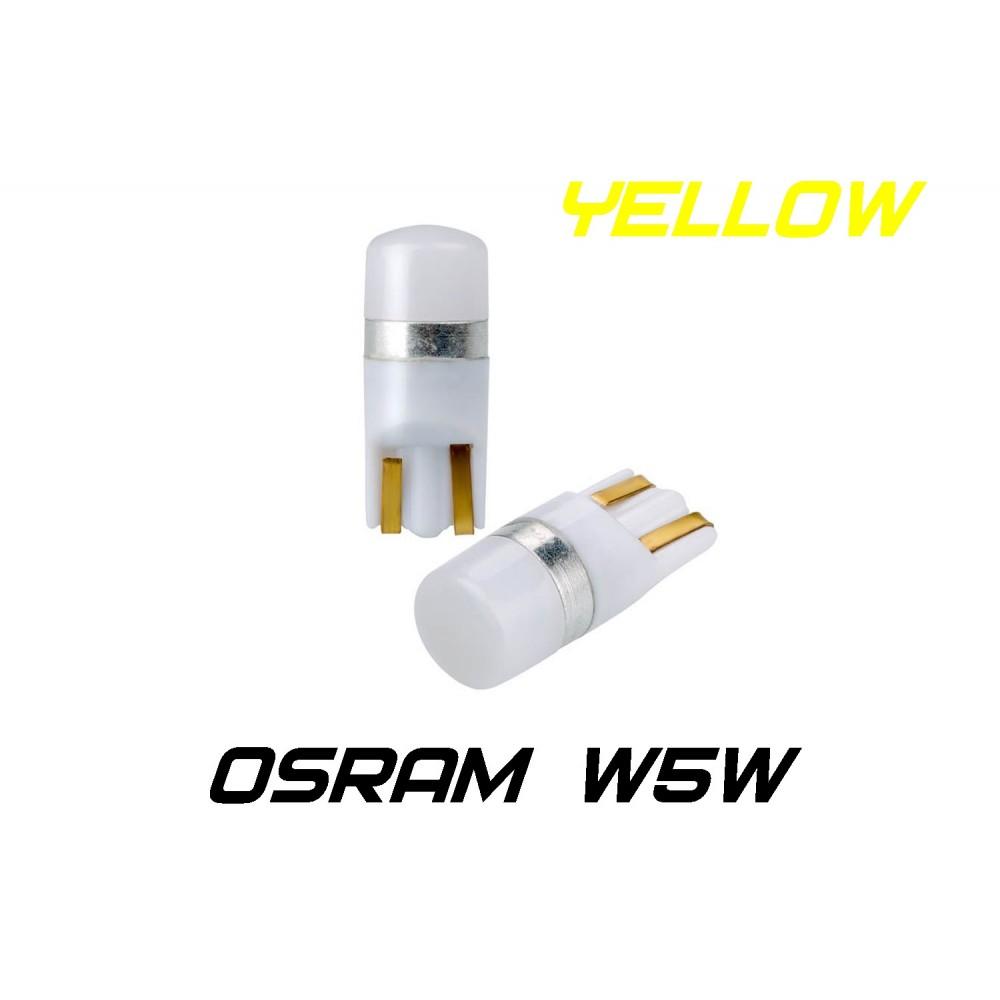 Optima Premium W5W (T10) Osram Chip Yellow