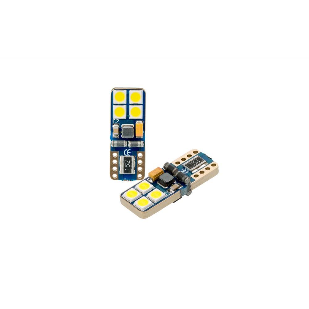 Optima Premium W5W (T10) Samsung Chip 8 CAN WHITE