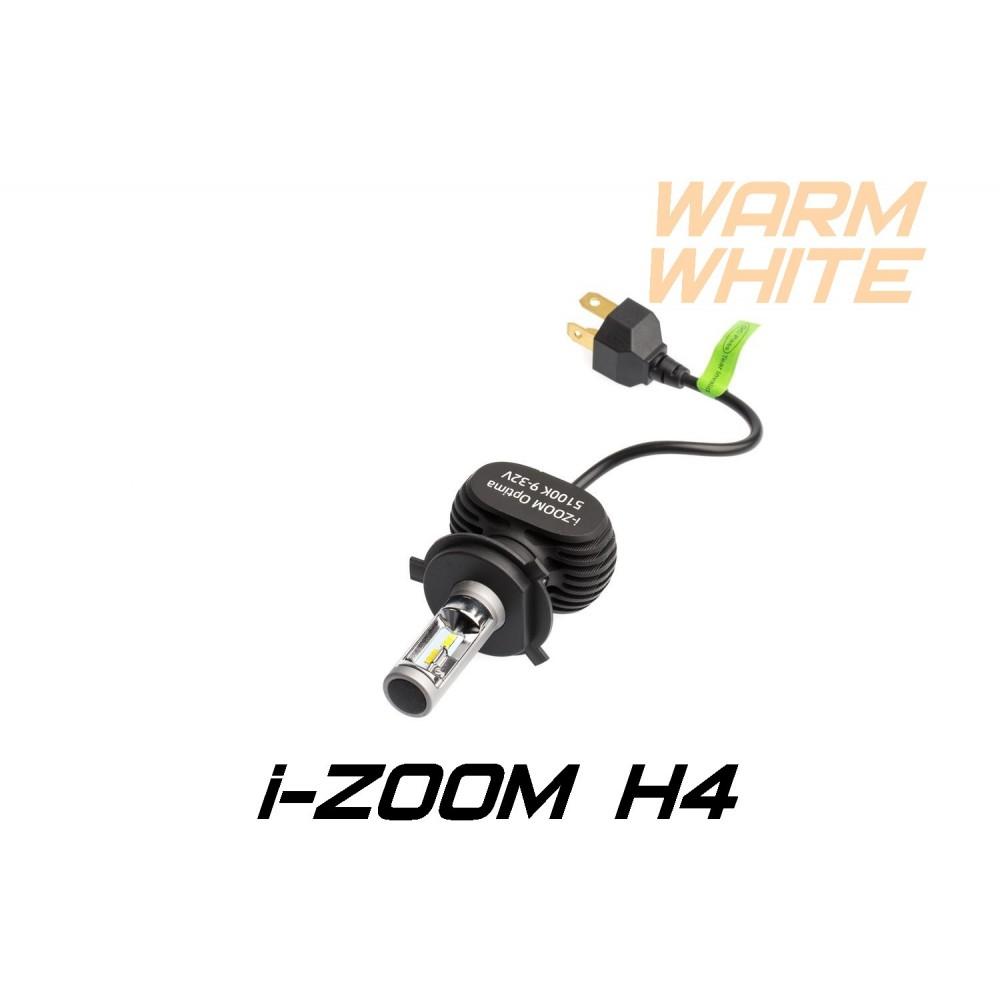 Светодиодные лампы Optima LED i-ZOOM H4 Warm White