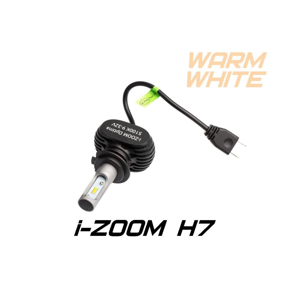 Светодиодные лампы Optima LED i-ZOOM H7 Warm White