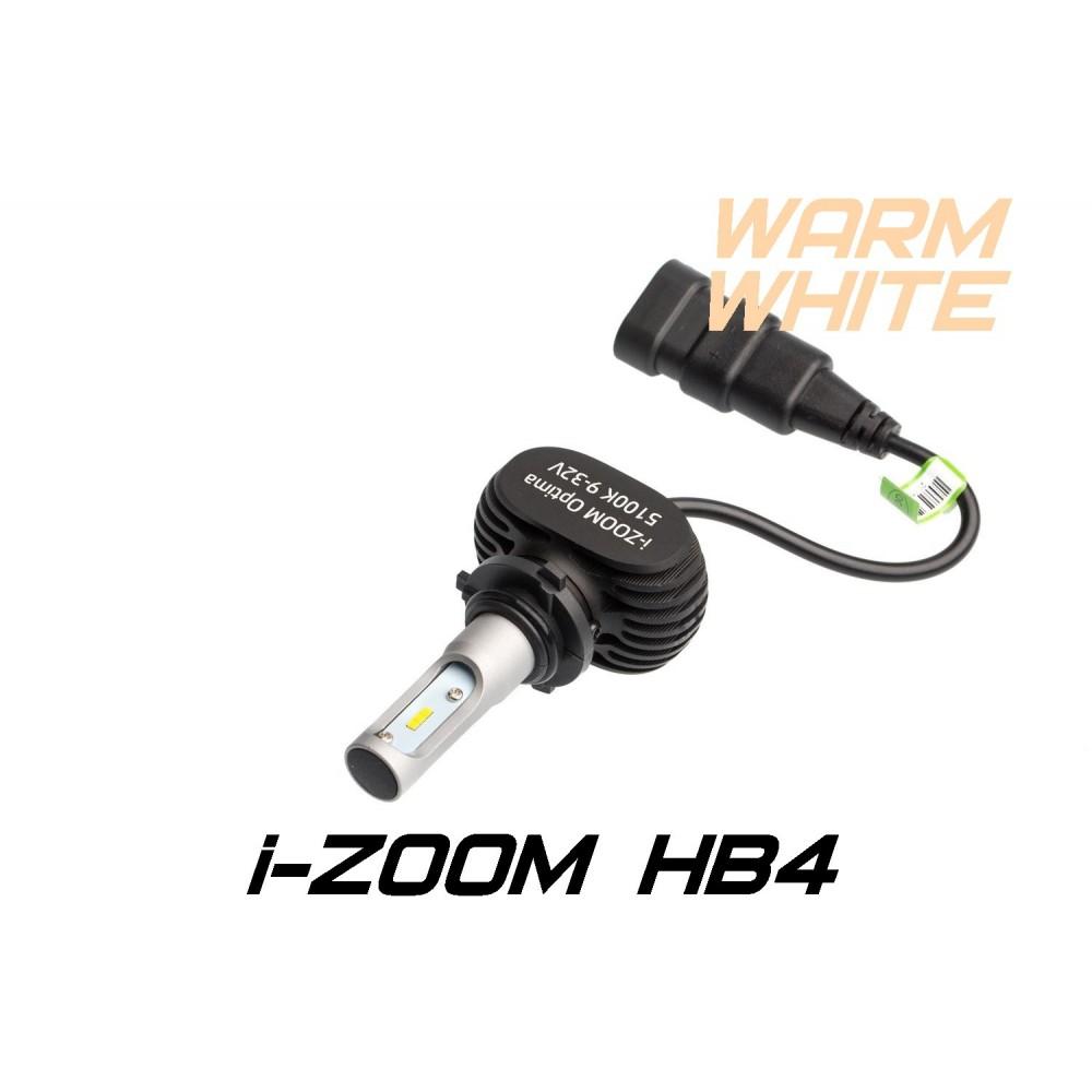 Светодиодные лампы Optima LED i-ZOOM HB4(9006) Warm White