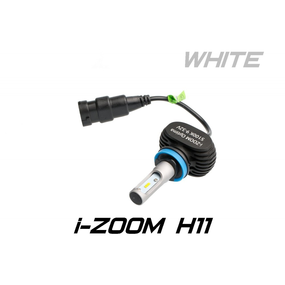 Optima LED i-ZOOM H11 White