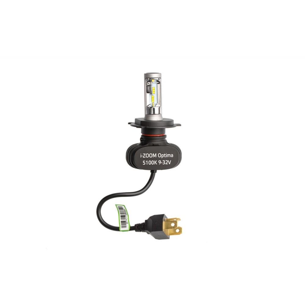 Светодиодные лампы Optima LED i-ZOOM H4 White