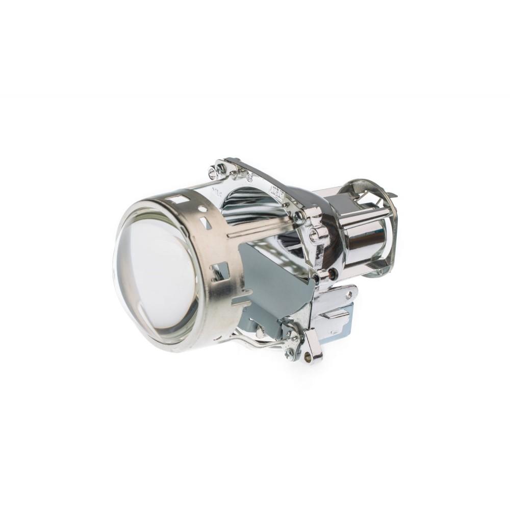 "Биксеноновые линзы Optima Ultimate Lens 3.0"" D2S/H7, круглый модуль под лампу D2S/H7 3.0 дюйма без бленды"