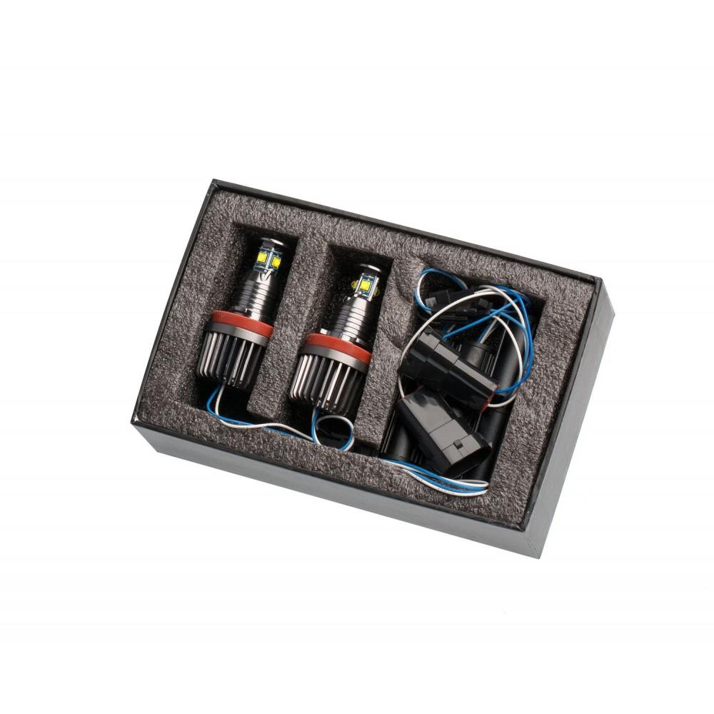 Светодиодные маркеры Optima Premium H8 CREE XT-E 40W CAN BUS для ангельских глазок BMW E70