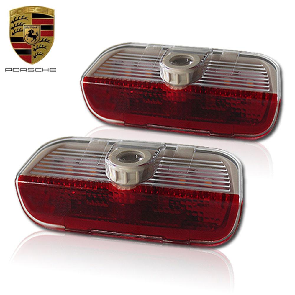 Светодиодная подсветка дверей Optima Premium на PORSCHE CAYENNE