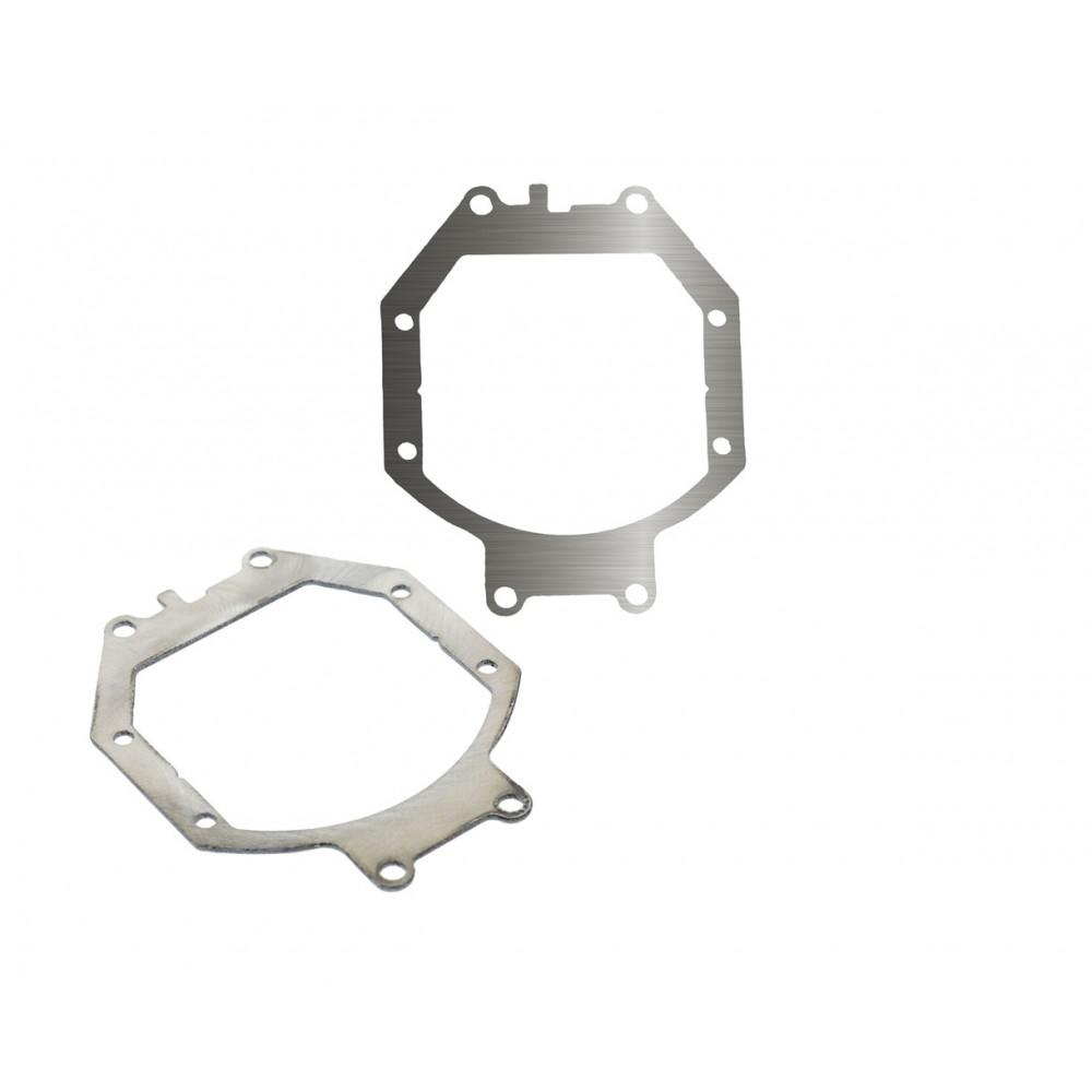 "Переходные рамки на Mitsubishi Pajero IV для Bi-LED Adaptive Series 2.8"""