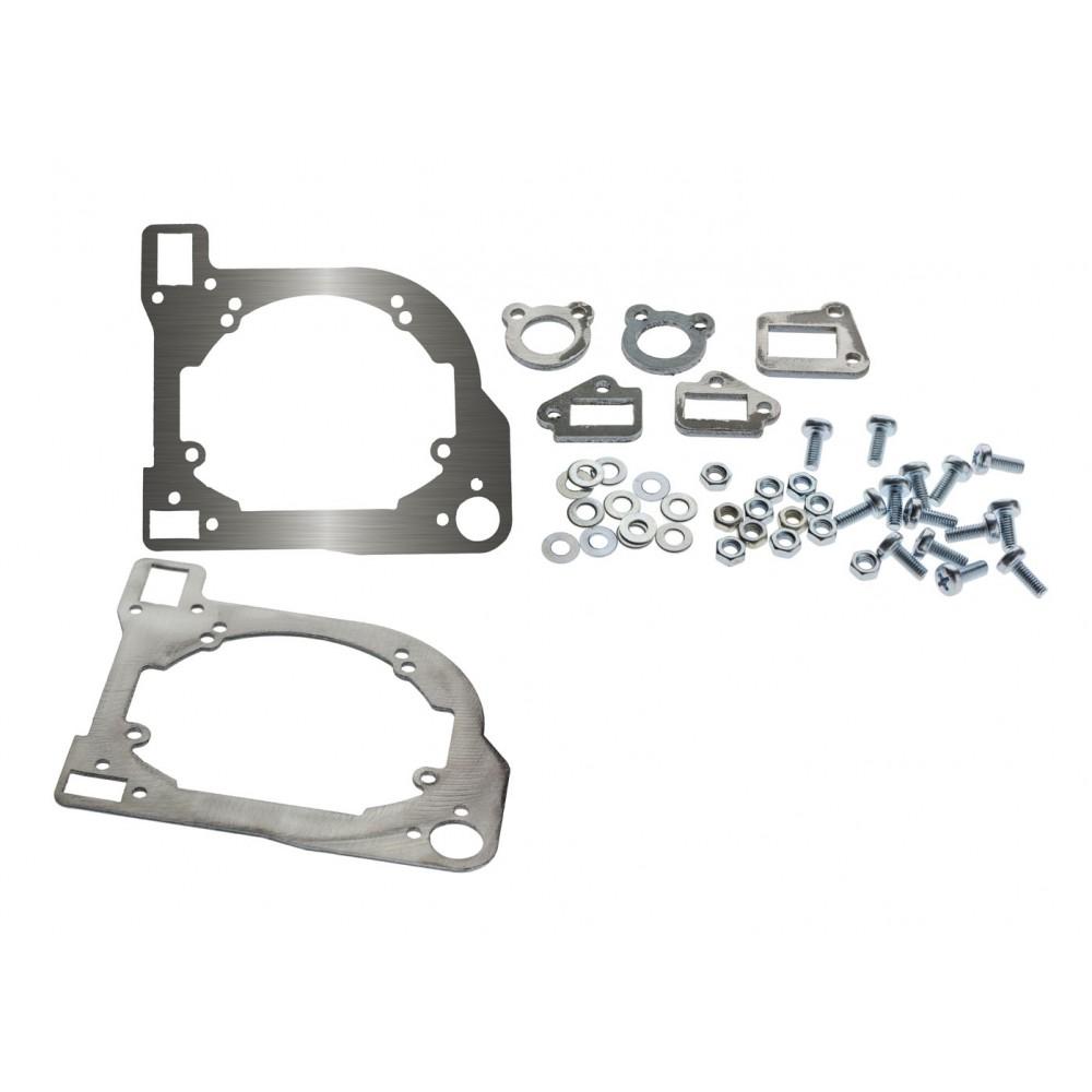 Переходные рамки на Nissan Murano I (Z50) для Hella 3/3R (Hella 5R), Optima Magnum 3.0