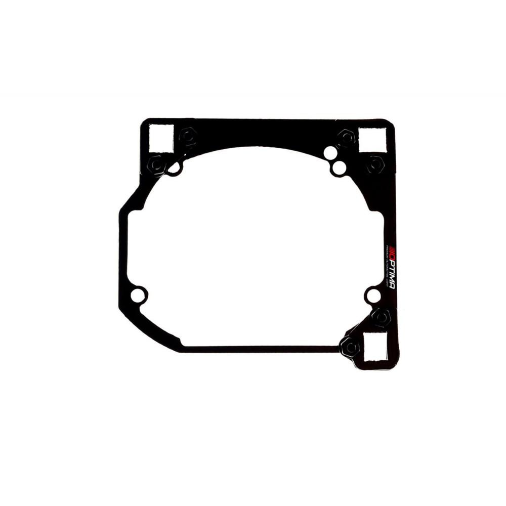 Переходные рамки на Hyundai Sonata V (NF) для Hella 3/3R (Hella 5R) / Optima Magnum 3.0