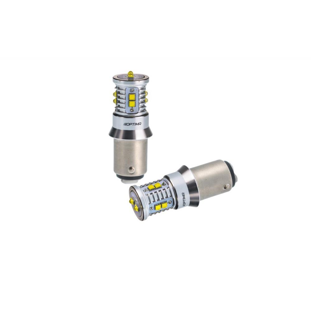 Optima Premium MINI P21/5W белая с обманкой