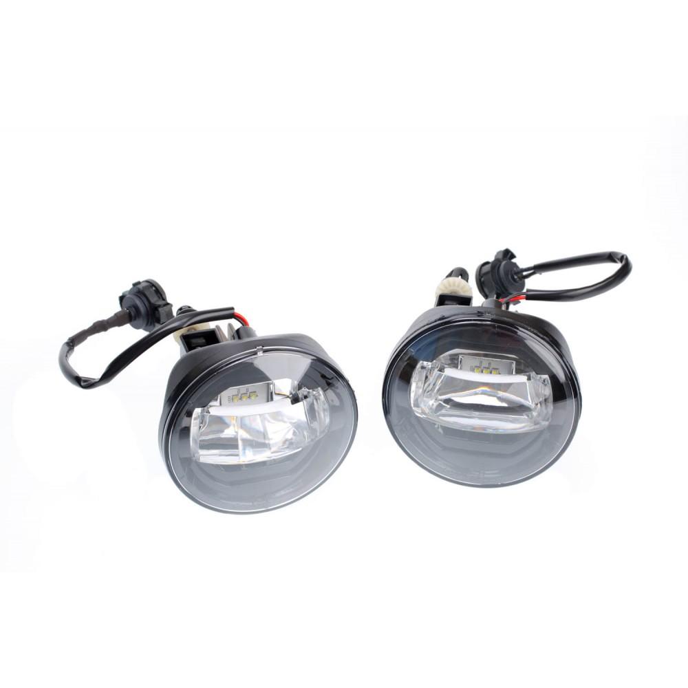 Светодиодная противотуманная фара Optima LED FOG 90мм Chevrolet - LFL-966