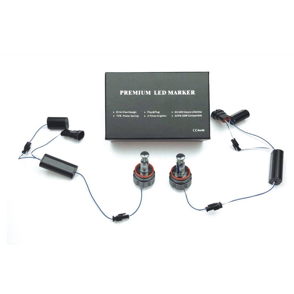 Светодиодные маркеры Optima Premium CREE G2 CAN BMW H8 40W